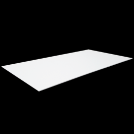 High Impact Polystyrene Plastic Sheet (24'' x 48'')