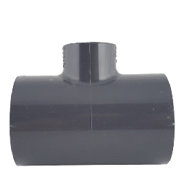 Gray PVC Reducing Tee (Socket)