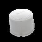 White PVC Cap