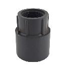 Gray PVC Reducing Female Adapter
