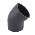 Gray PVC Elbow 45