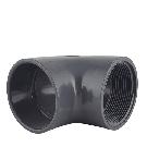 Gray PVC Elbow 90 (fnpt x socket)