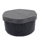 Gray PVC Male Threaded Plug
