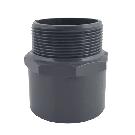 Gray PVC Male Adapter