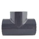 Gray PVC Tee (Socket x fnpt)