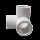 White PVC Side Outlet Eblow
