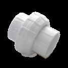White PVC union Socket