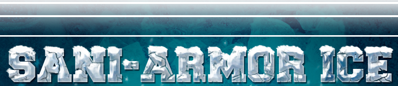 SaniArmor Ice Blue Icy Logo